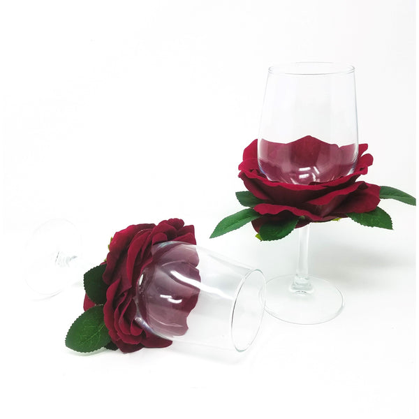 Rose-Petal-Wine-Glass-Set
