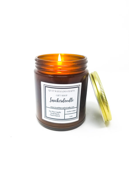 Snickerdoodle-Soy-Wax-Candle