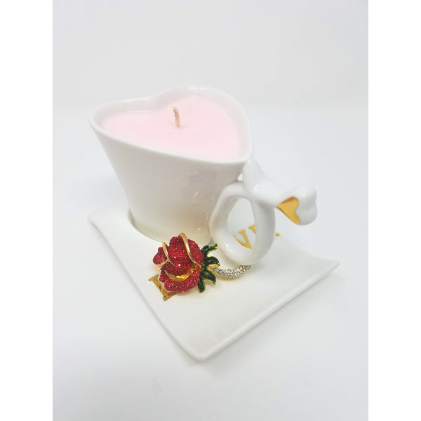 White-Heart-Shaped-Coffee-Cup-Candle-Red-Brooch