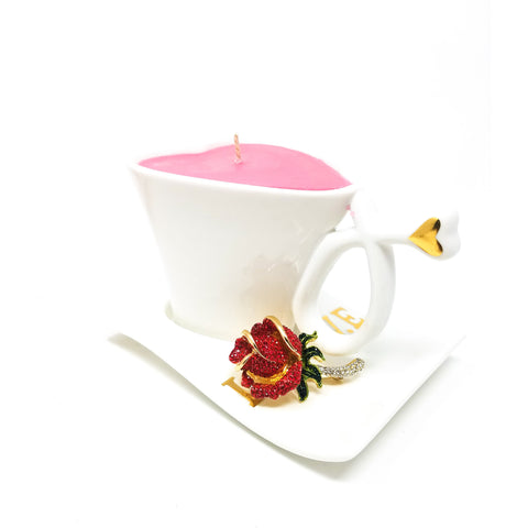 White-Heart-Coffee-Cup-Candle-Red-Brooch