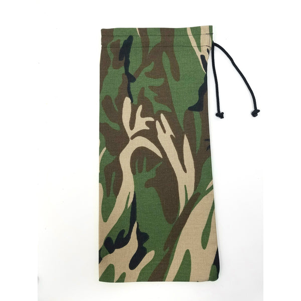 Camouflage Drawstring Wine Bag