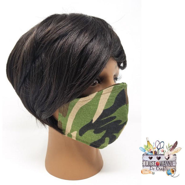 Reversible Cloth Face Masks - Multiple Color Options