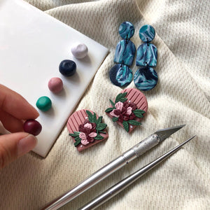 Polymer Clay Earrings Workshop | 26 Sept 2020 | 2.30pm to 5.30pm
