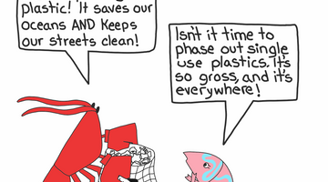 Picking up Trash Keeps the Streets and The Ocean Clean