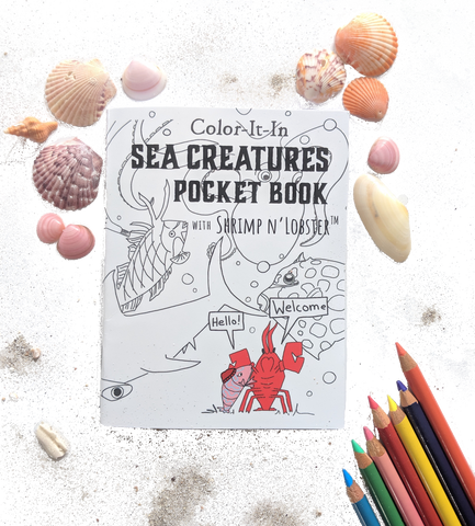 Sea Creatures Pocket Book for Kids