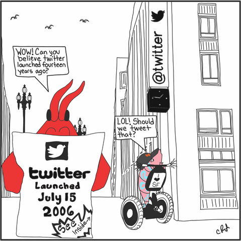 Twitter Launched Fourteen Years Ago July 15, 2016