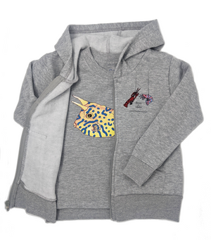 Layer the Cowfish tee with a Shrimp 'n Lobster hoodie! Mix and match your favorite sea creatures! They make a perfect gift for every ocean lover.