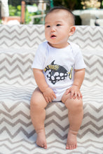 Load image into Gallery viewer, Triggerfish Print Short Sleeve Onesie