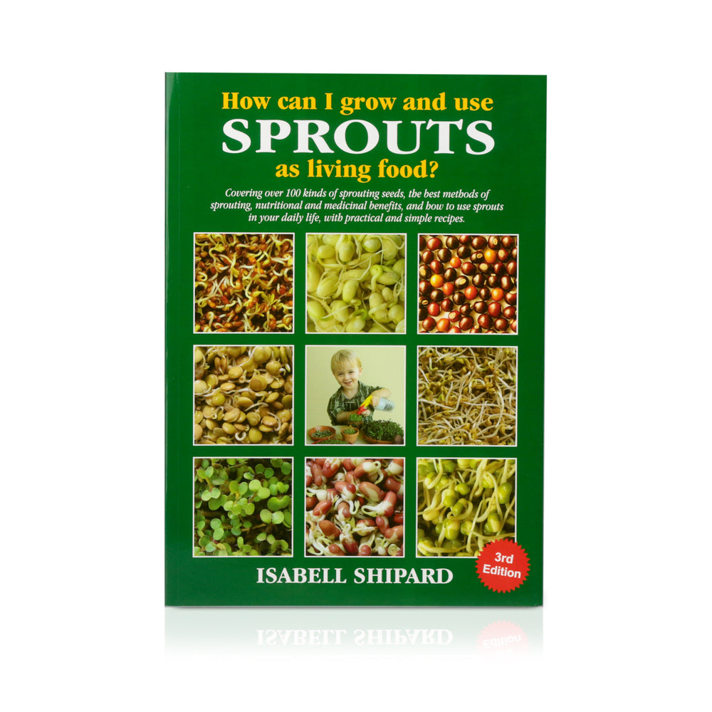 Book - How can I grow and use sprouts? - Happy Herb Co