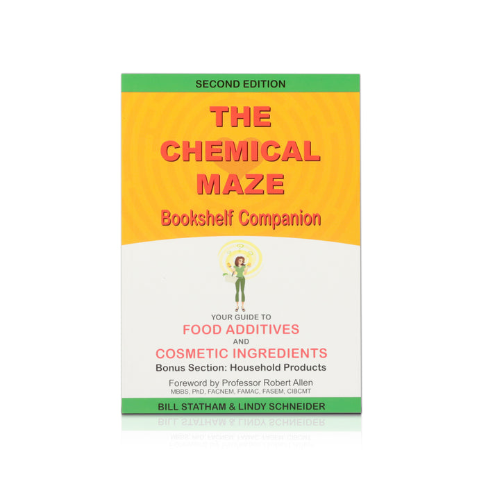 Book - The Chemical Maze Bookshelf Companion - Happy Herb Co