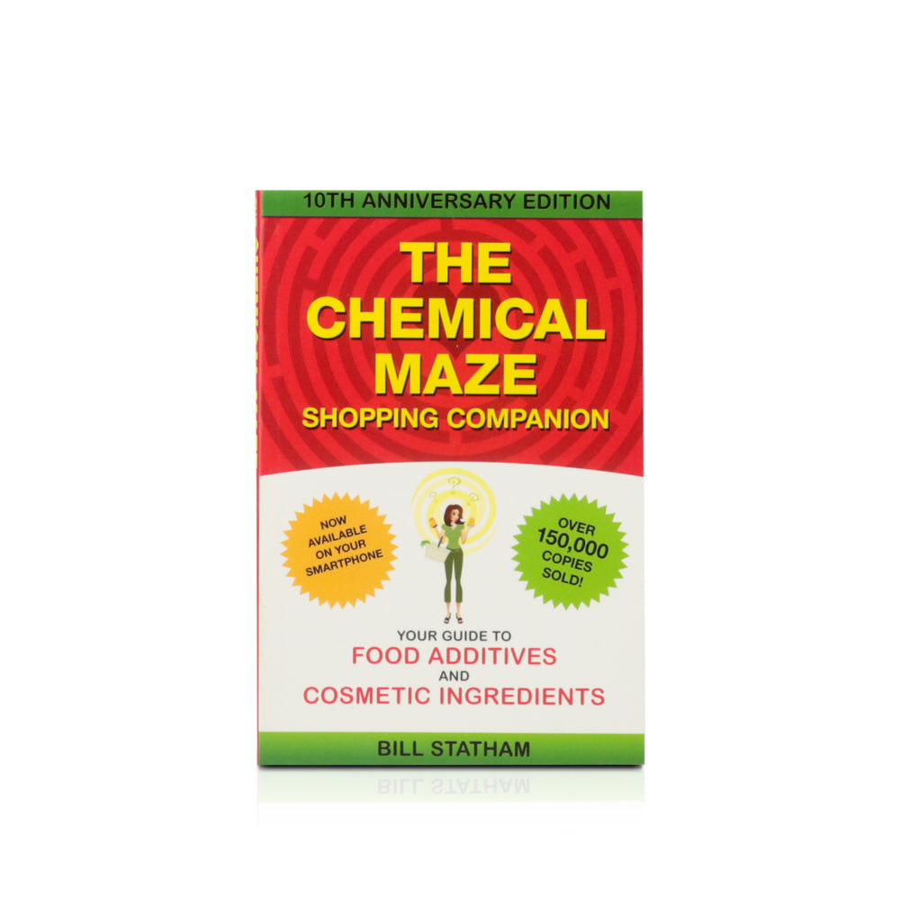 Book - The Chemical Maze shopping companion - Happy Herb Co