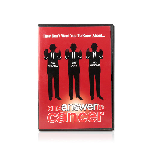 DVD - One Answer to Cancer - Happy Herb Co
