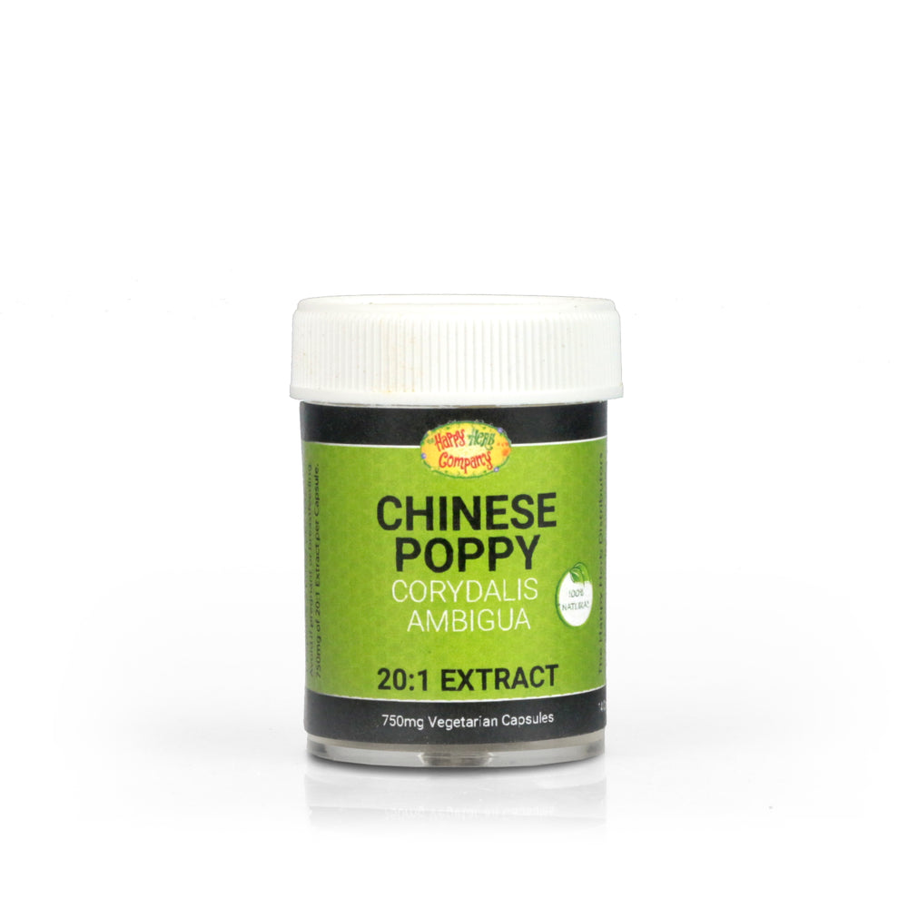 Chinese Poppy Extract - Capsules - Happy Herb Co
