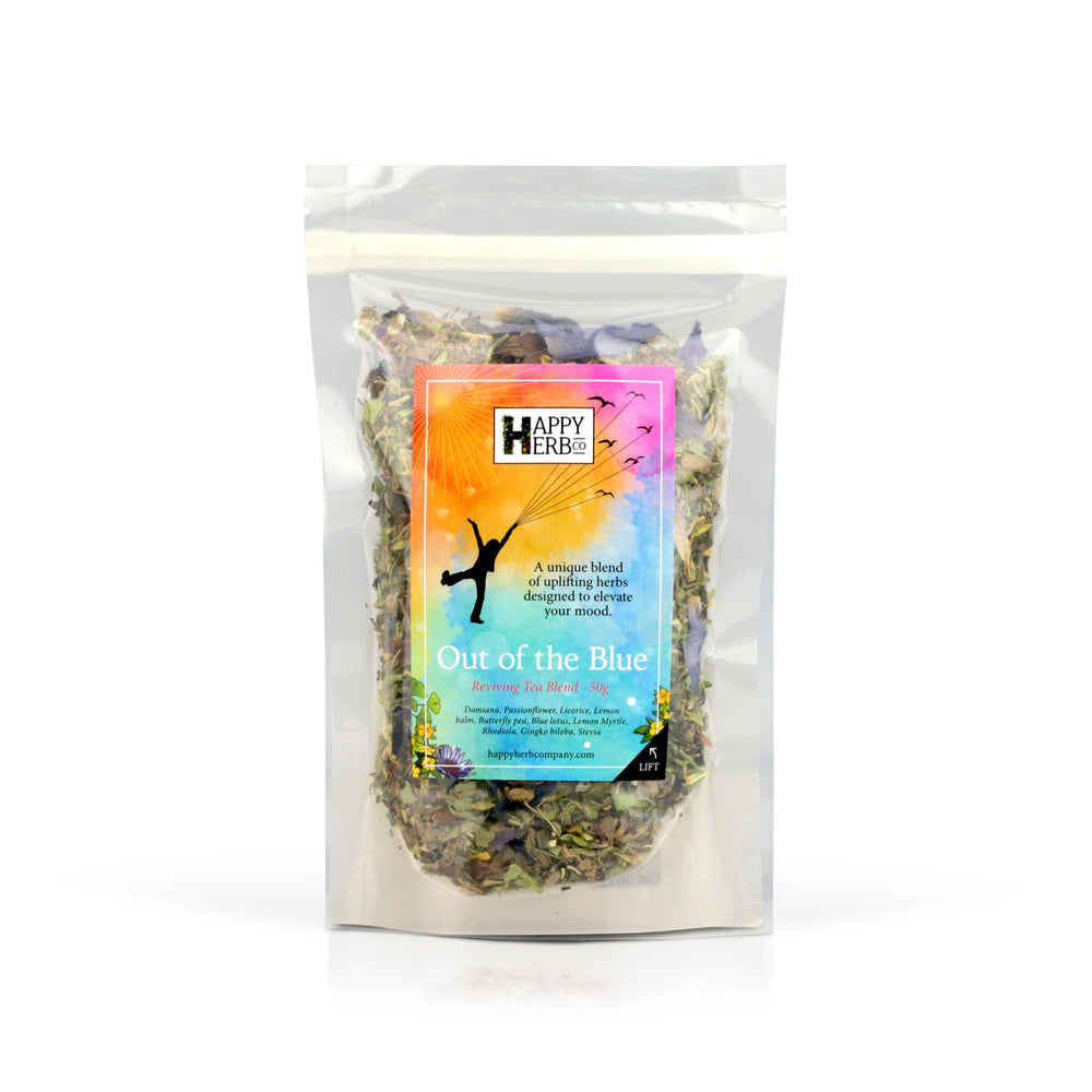 Out of the BLUE - Tea Blend - Happy Herb Co