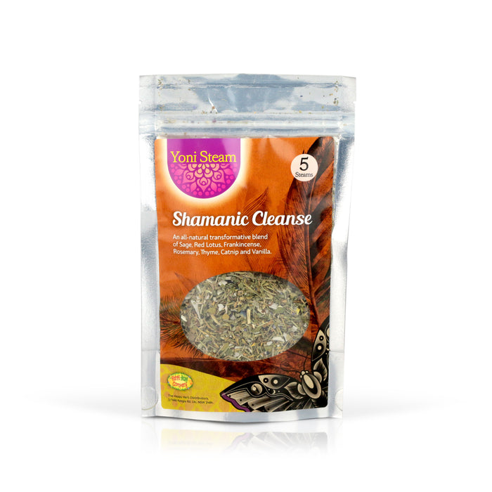 Yoni Steam - Shamanic Cleanse - Happy Herb Co