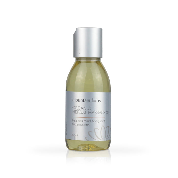 Organic Herbal Massage Oil - Happy Herb Co