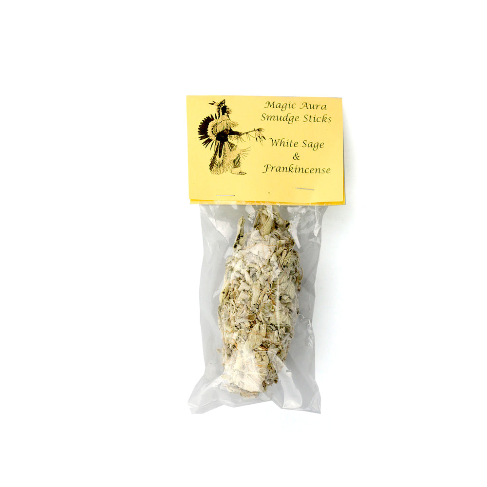 Smudge - Sage and Frankincense - Happy Herb Co