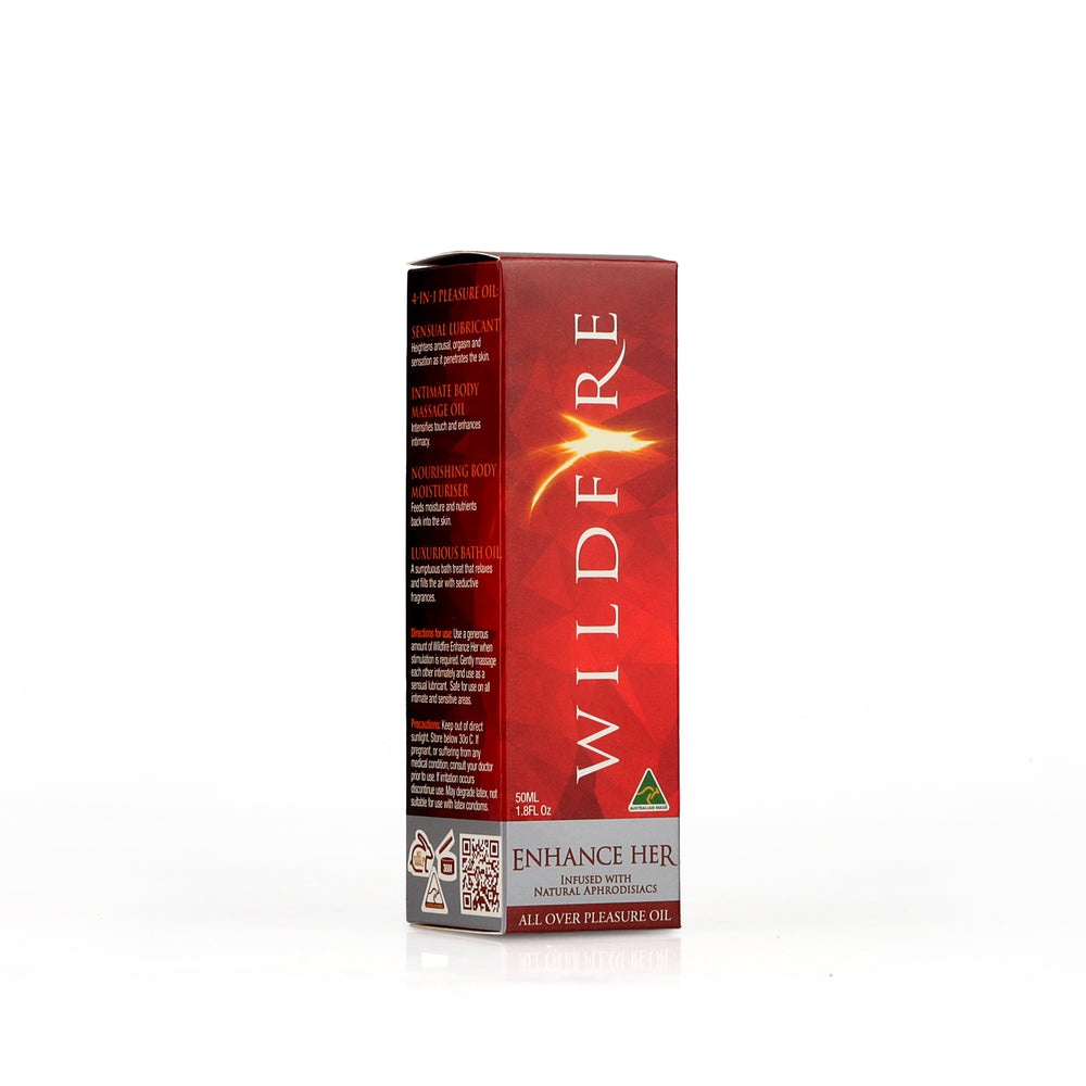 WILDFIRE Pleasure Oil - Enhance Her
