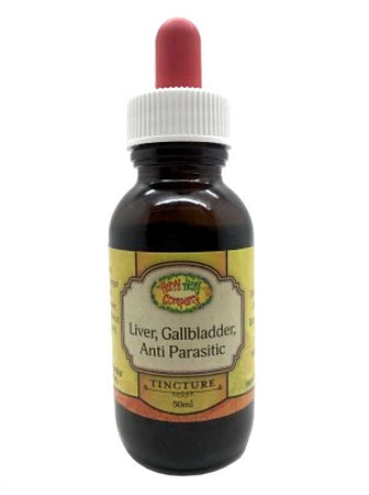 Liver, Gallbladder, Antiparasitic Formula - 50ml - Happy Herb Co