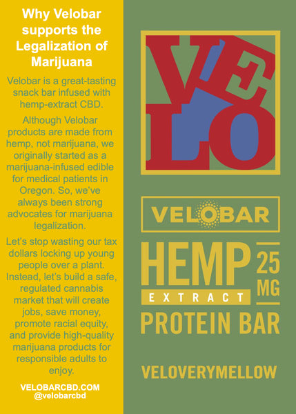 Damn Right Velobar Supports Marijuana Legalization - Here's Why