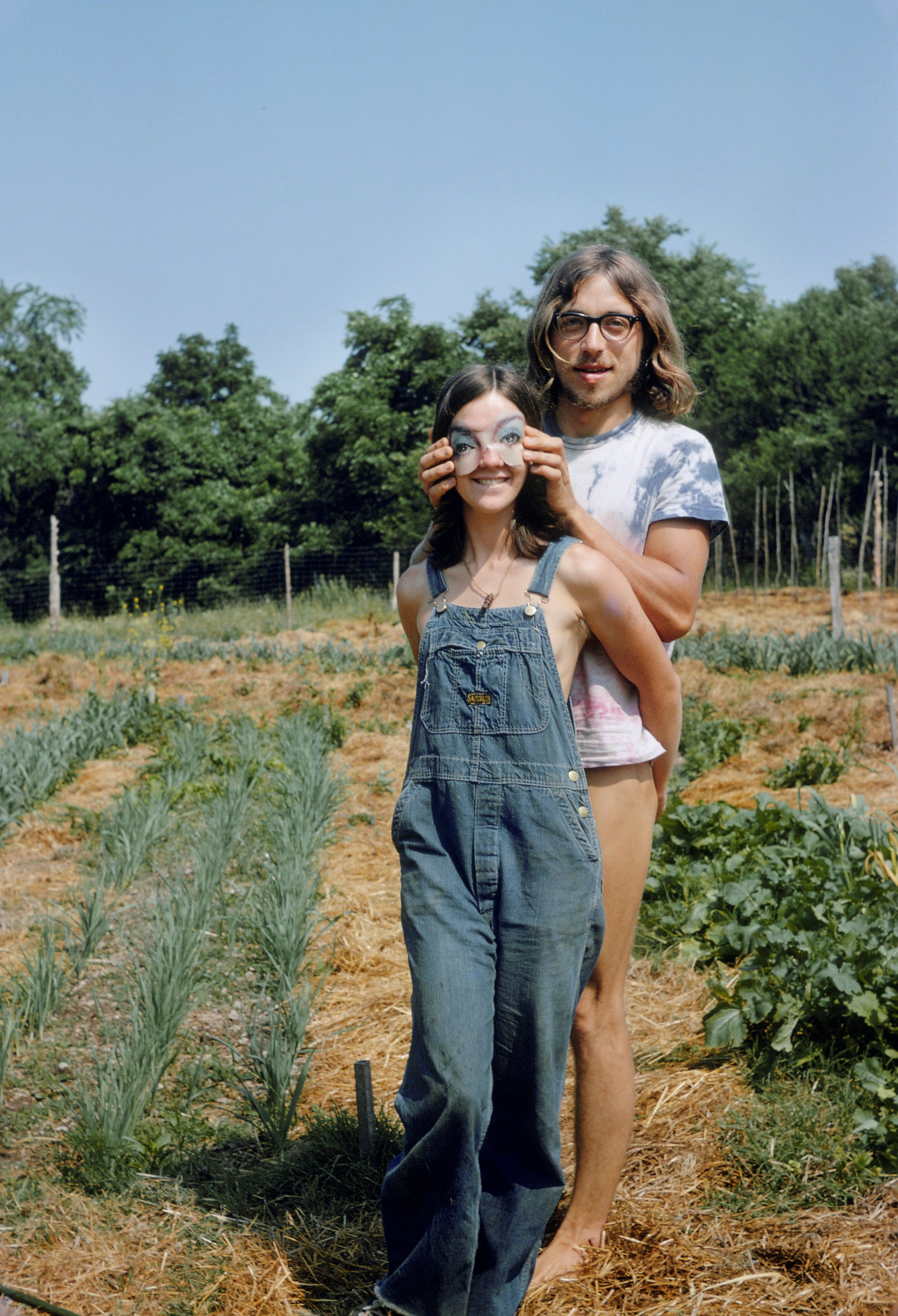 Dragonwagon Commune Couple June 1972