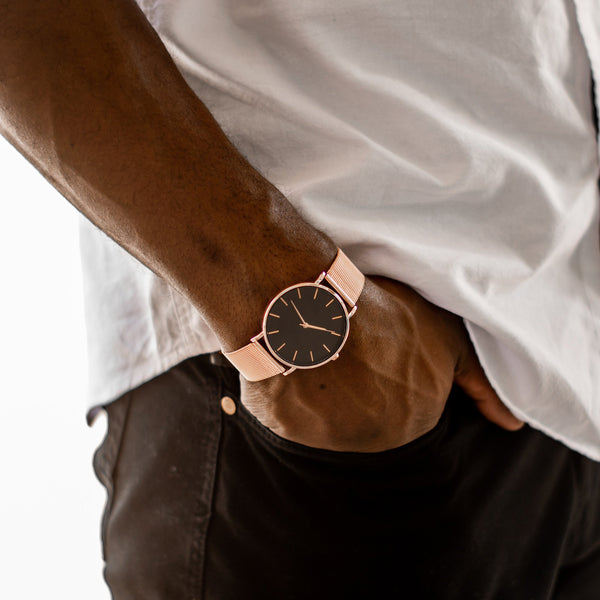 Rose Coal-Men's Watch-PRIZM
