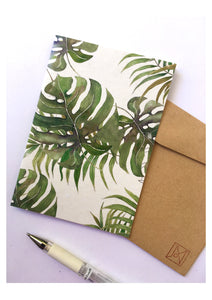Monstera Card - Joni Murphy Artist