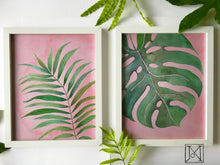 Load image into Gallery viewer, Palm Blush Art Print