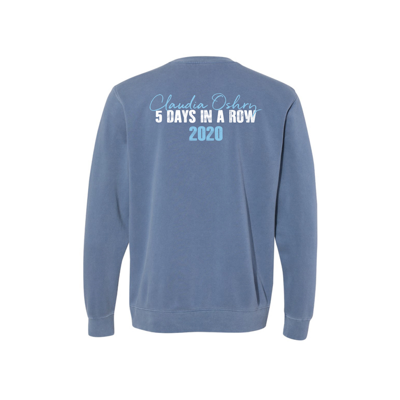 Blue Dirty Jeans Tour Crewneck