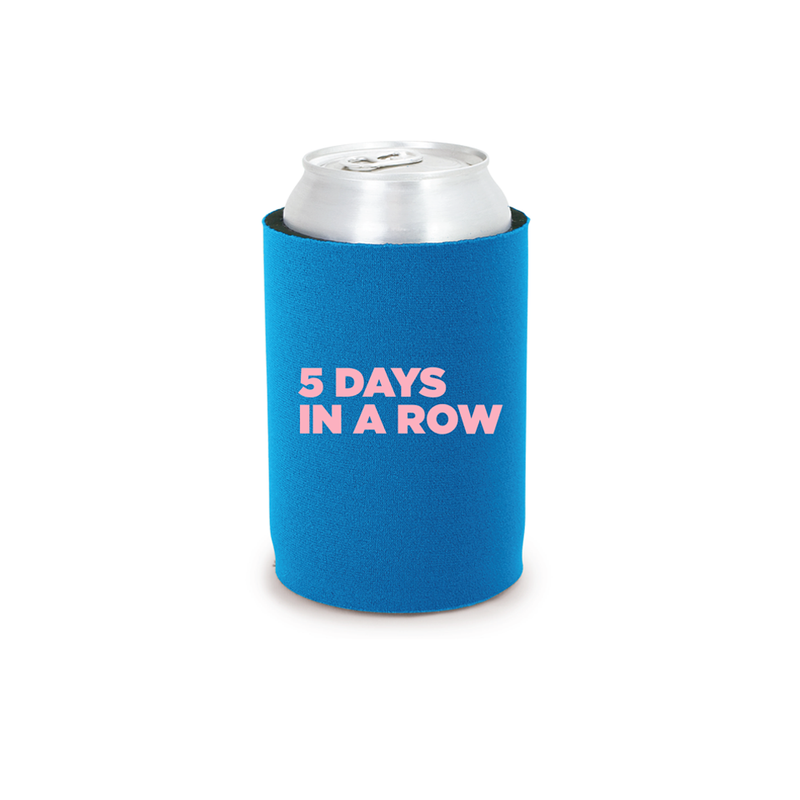Blue Dirty Jeans Tour Koozie