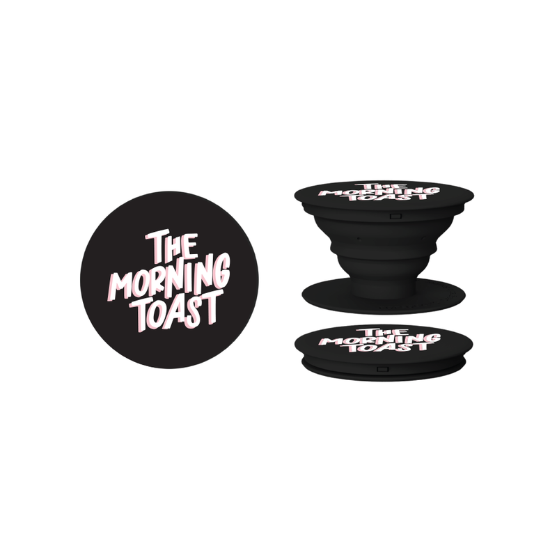 Black TMT Logo PopSocket