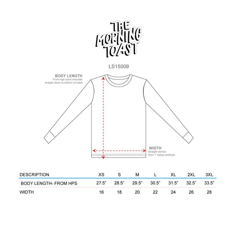 Toasty Lights White Long Sleeve