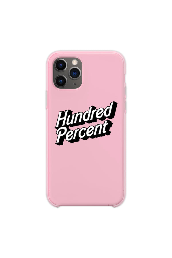 Hundred Percent Light Pink Phone Case