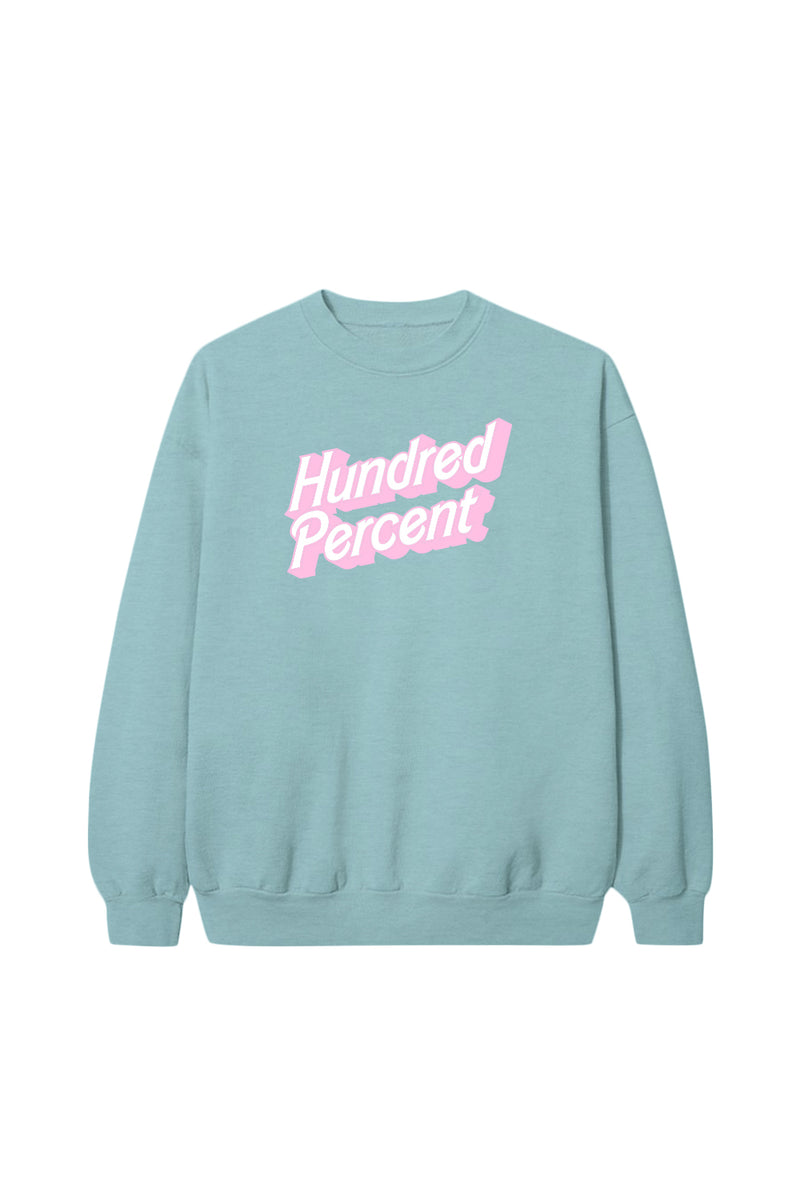 Hundred Percent Mint Crewneck