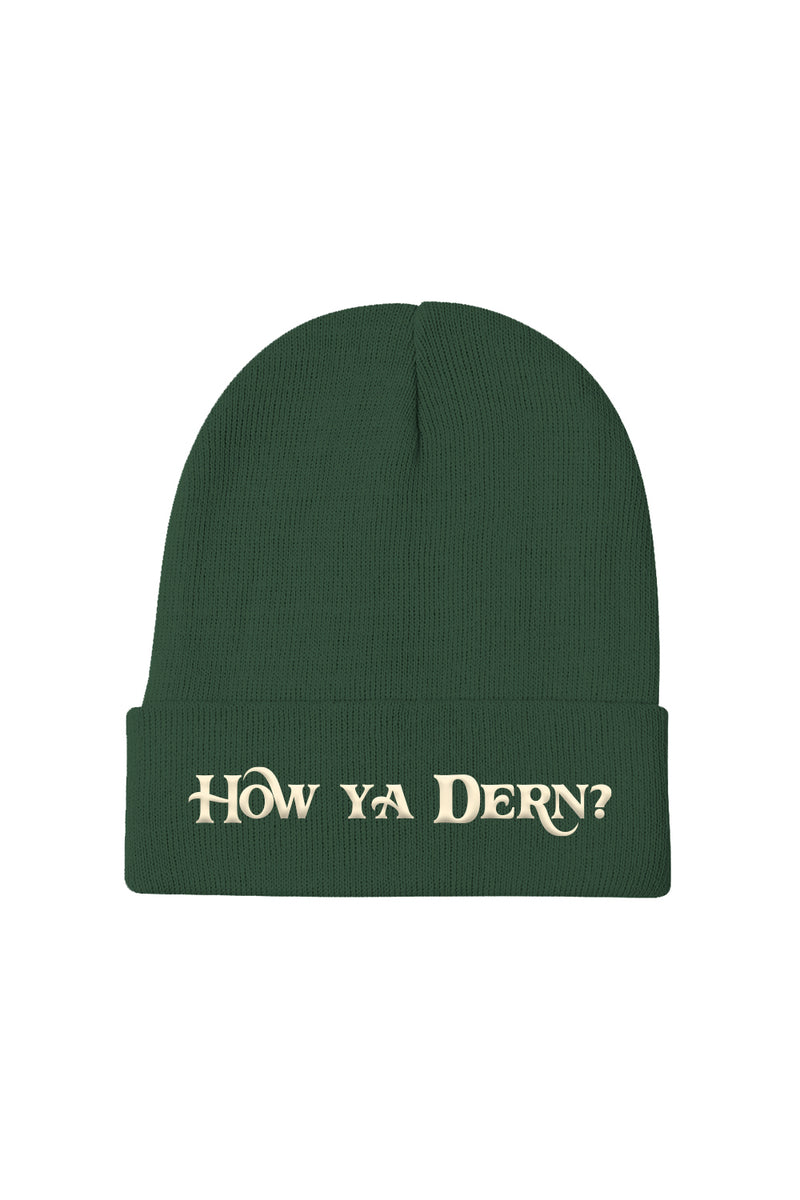 'How Ya Dern' Forest Beanie