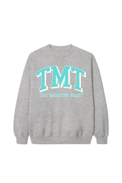 Mint TMT Grey Crewneck
