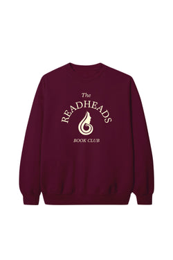The Readheads Maroon Crewneck