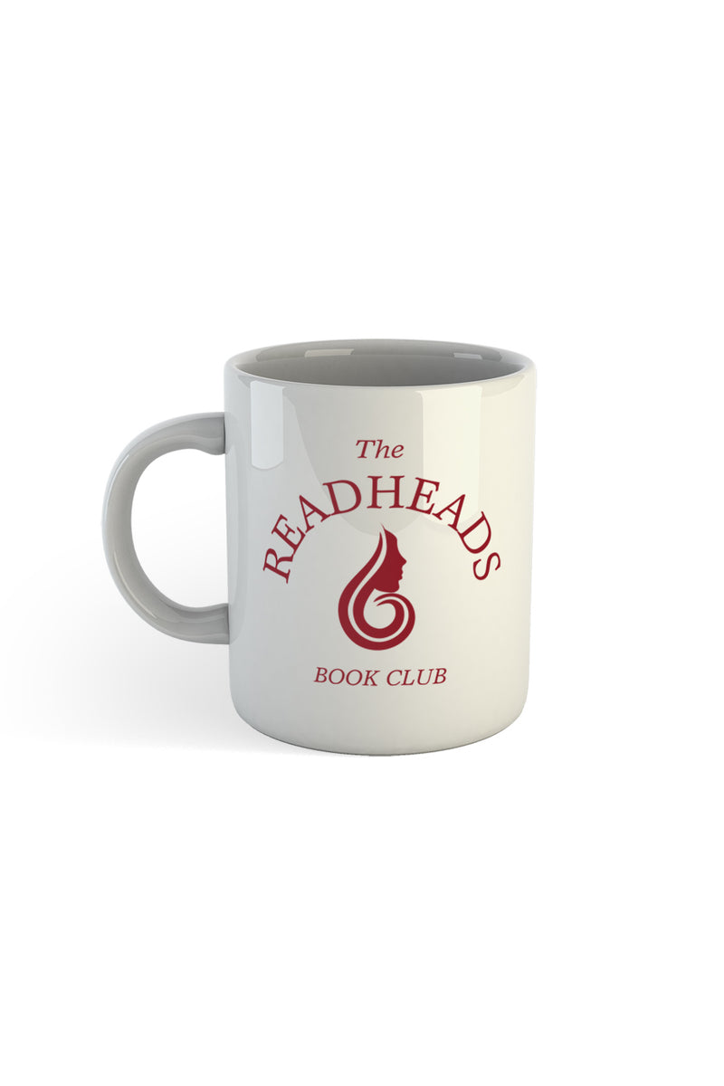 The Readheads White Mug