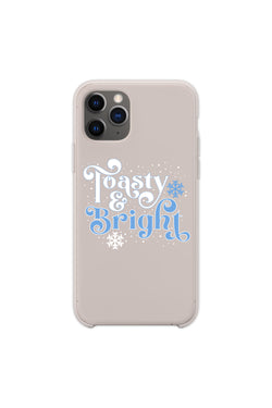 Toasty & Bright Silver Phone Case