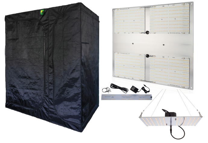 HLG 6X4X7 TENT & LAMP COMBO
