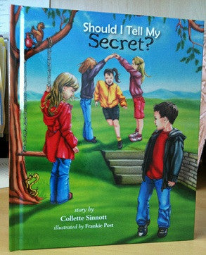 """Should I Tell My Secret?"" Book by Collette Sinnott"
