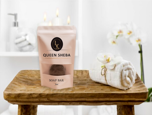 Queen Sheba Soap Bar (Pre-order Only)