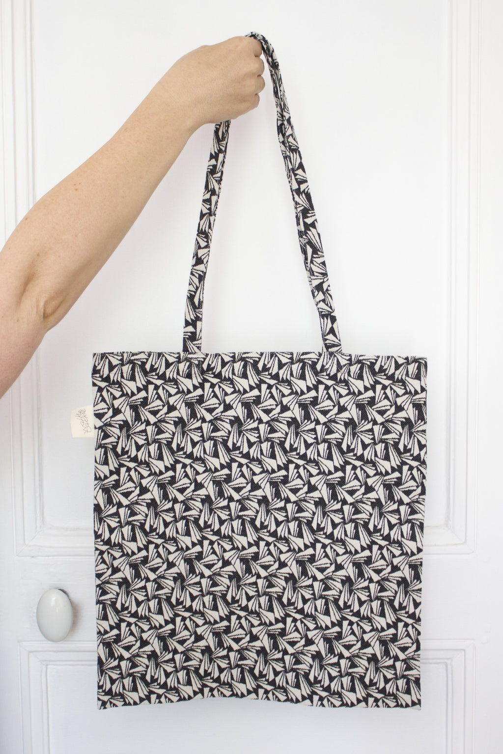 tote bag Jacquard origami Studio Walkie Talkie