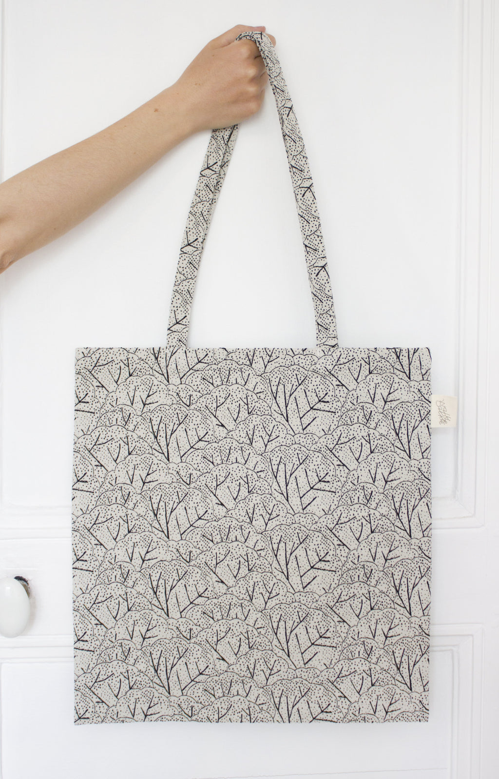 tote bag Jacquard arbre Studio Walkie Talkie