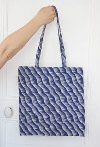 tote bag Jacquard vague Studio Walkie Talkie