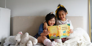 reading books kids filipino