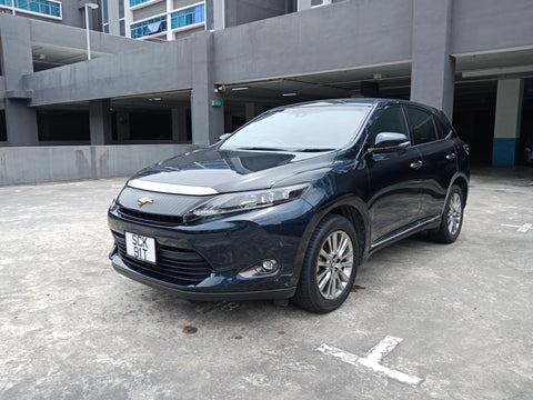 2015 USED TOYOTA HARRIER ZSU600033715 SCK91T