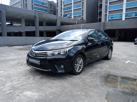 2015 USED TOYOTA COROLLA ALTIS MR053REH104537237 SKW9342C