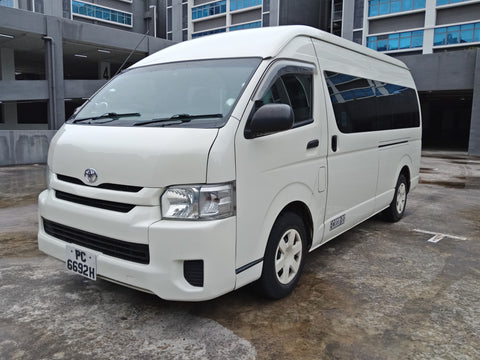 2012 USED TOYOTA HIACE HIROOF JTFST22P000012338 PC6692H