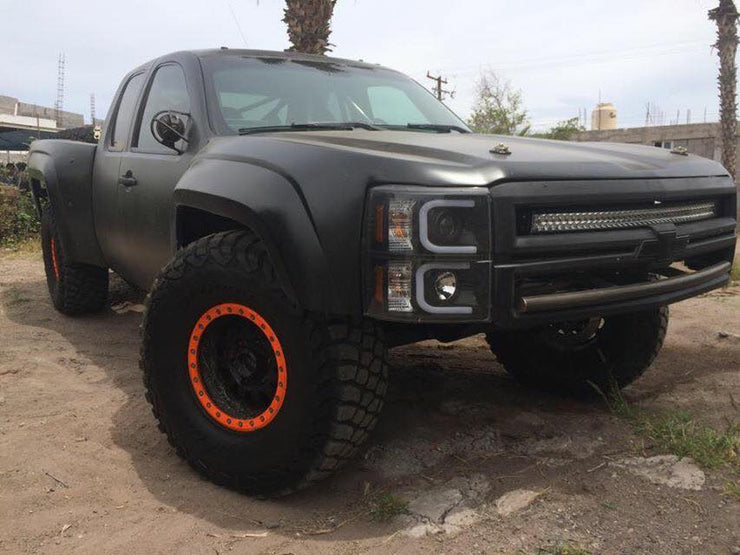 2007-2013 Chevy Silverado To 2018 Luxury Prerunner One Piece Conversion
